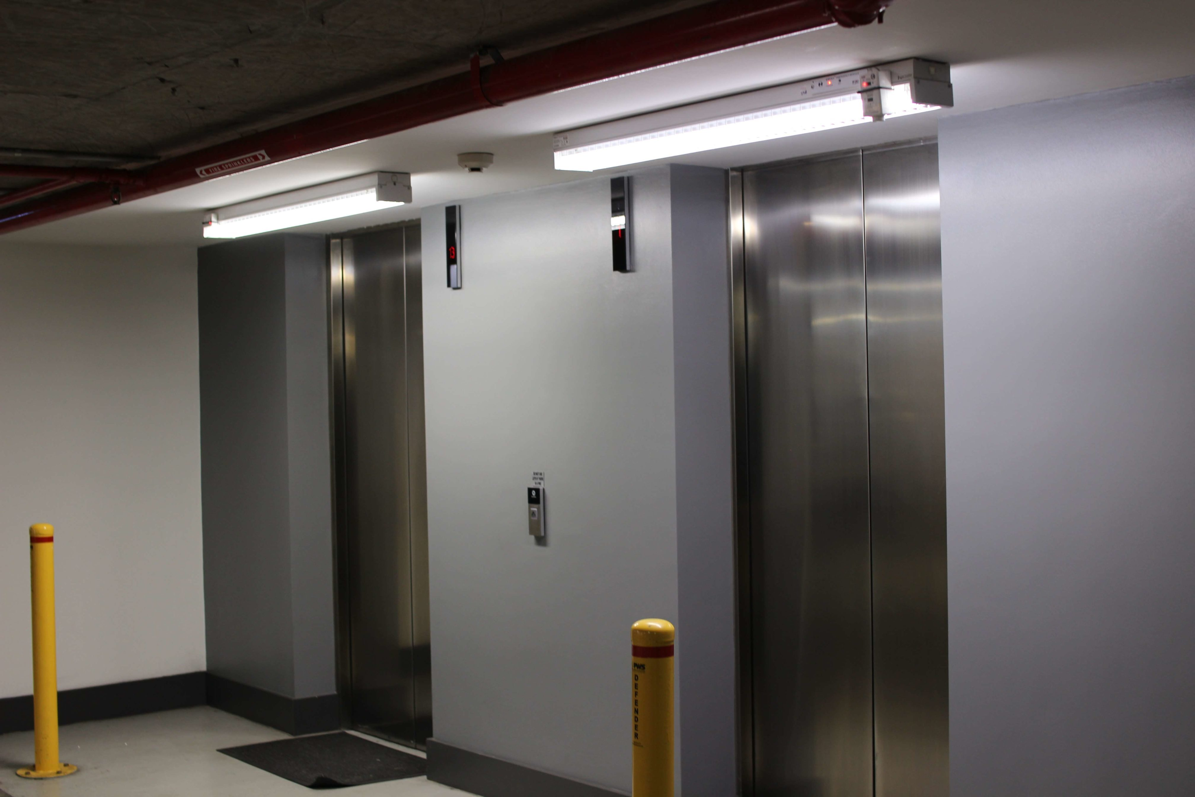 What are the NSW emergency lighting replacement requirements?
