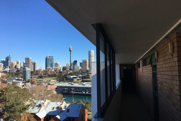 View of Sydney City